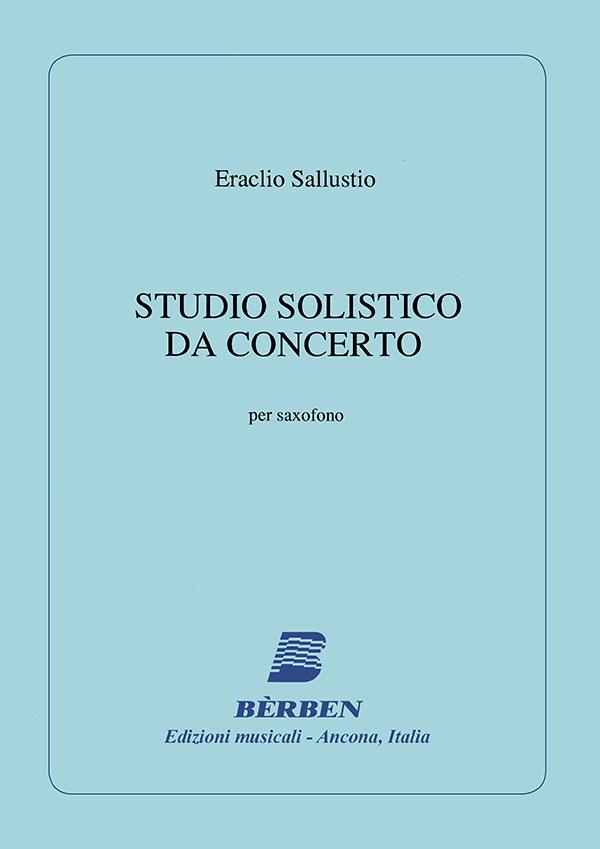 Studio solistico da concerto