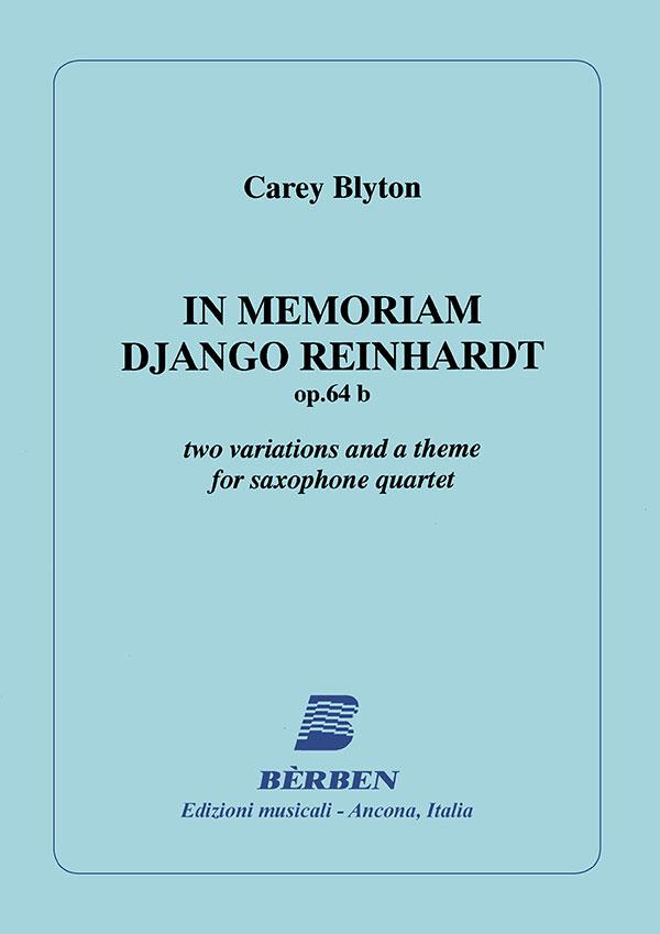 In memoriam Django Reinhardt