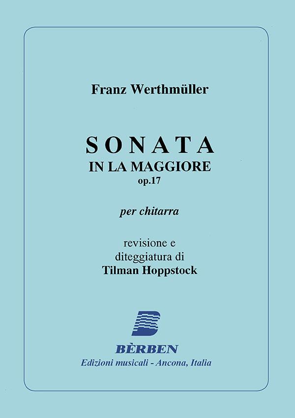 Sonata in La Maggiore op. 17