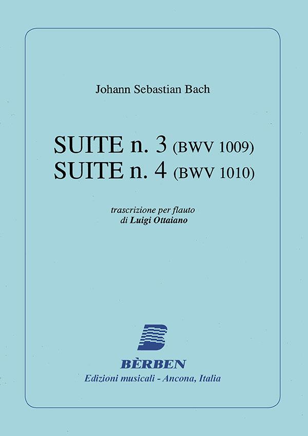 Suite n. 3 (BWV 1009) - Suite n. 4 (BWV 1010)