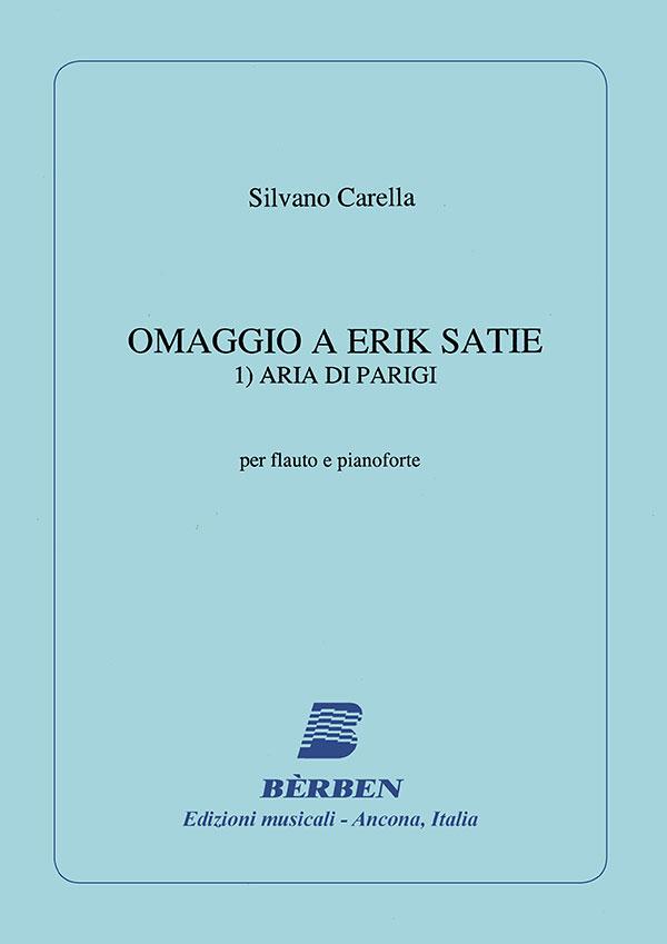 Omaggio a Erik Satie 1) Aria di Parigi