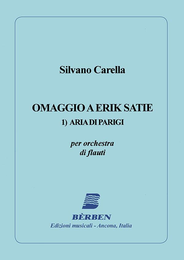 Omaggio a Erik Satie 1)Aria di Parigi