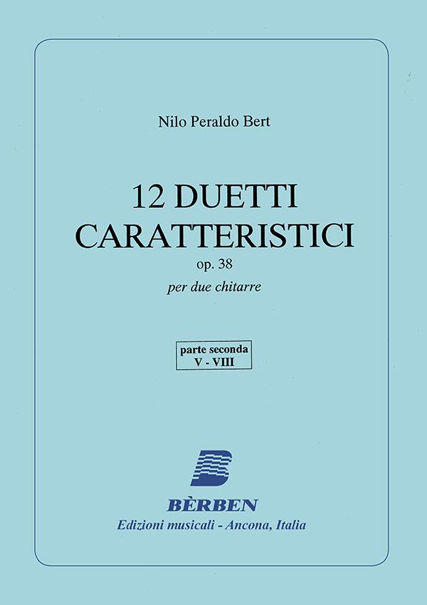 12 duetti caratteristici op. 38