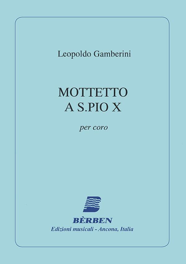 Mottetto a S. Pio X