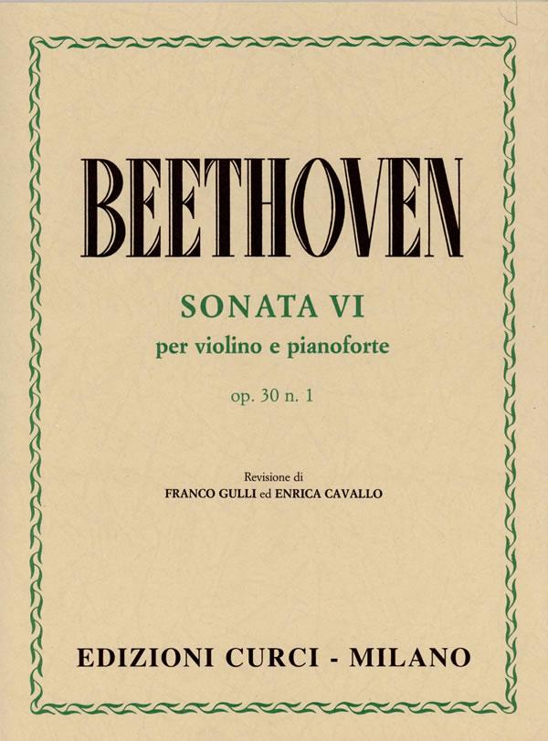 Sonata VI op. 30 n. 1 in La maggiore