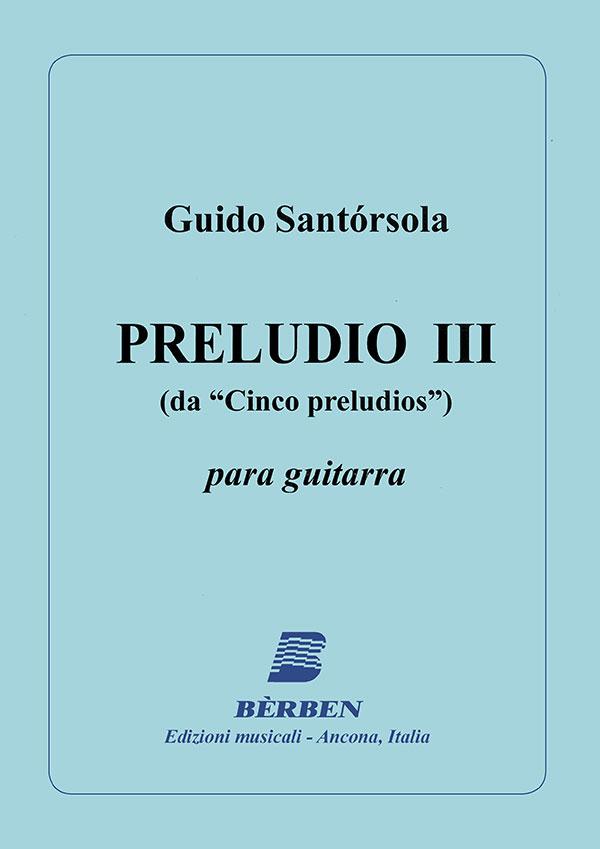 Preludio III
