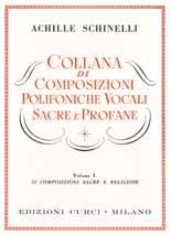 Collana di composizioni polifoniche vocali sacre e profane