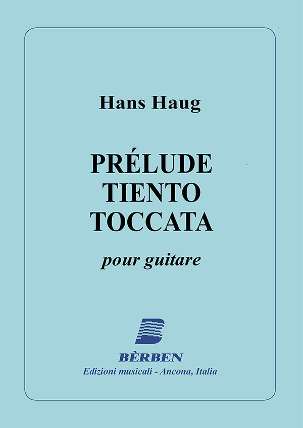 Prélude - Tiento - Toccata