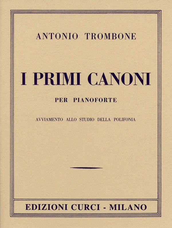 I primi canoni