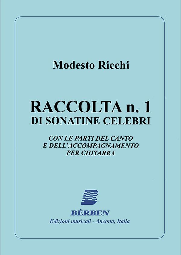 Raccolta n. 1 di sonatine celebri