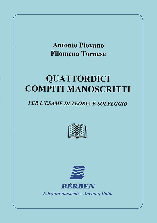Quattordici compiti manoscritti