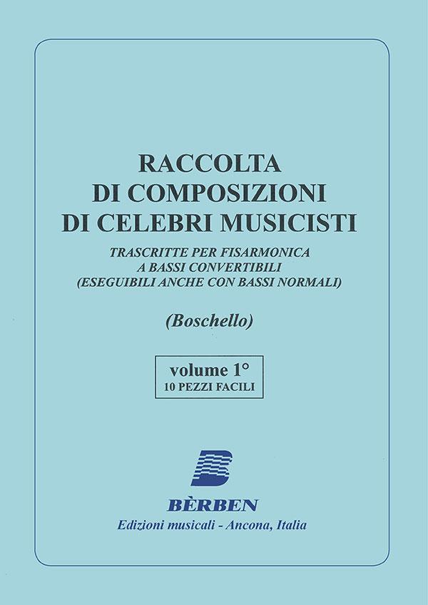 Raccolta di composizioni di celebri musicisti