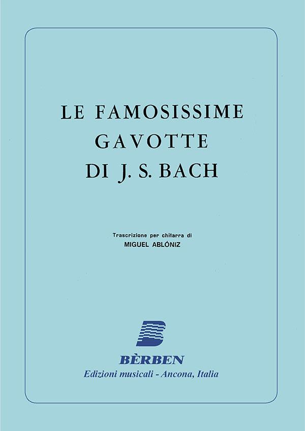 Le famosissime gavotte di J. S. Bach
