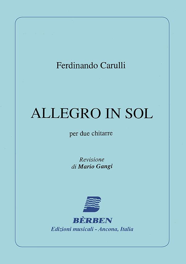 Allegro in sol
