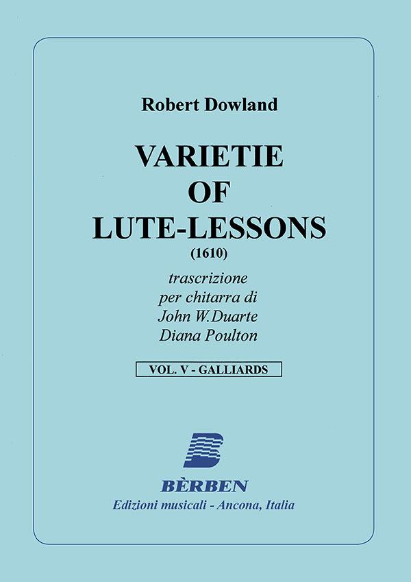 Varietie of Lute-Lessons