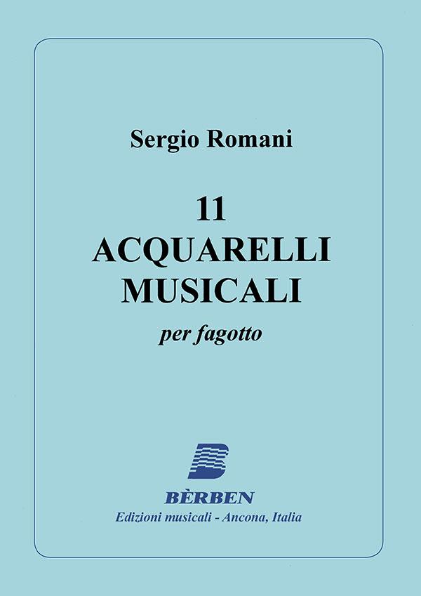 11 acquarelli musicali