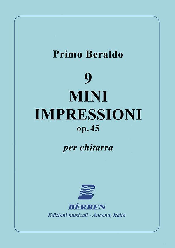 9 mini impressioni