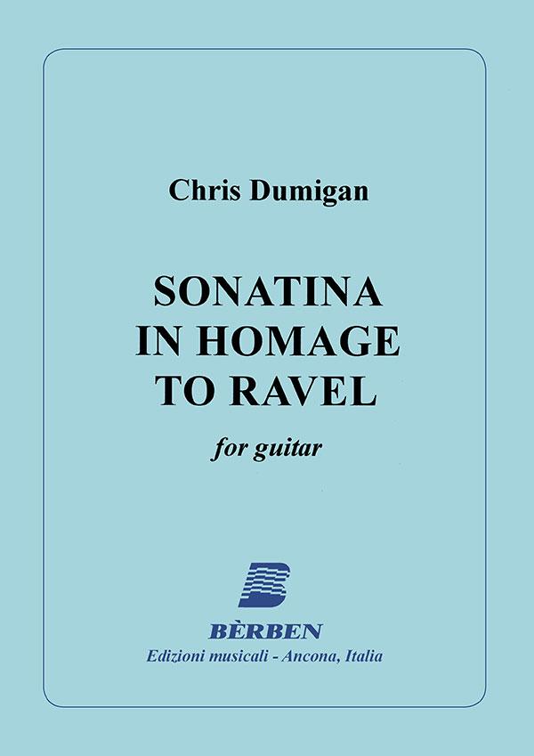 Sonatina in homage to Ravel