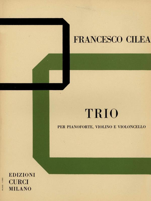 Trio per pianoforte, violino e violoncello