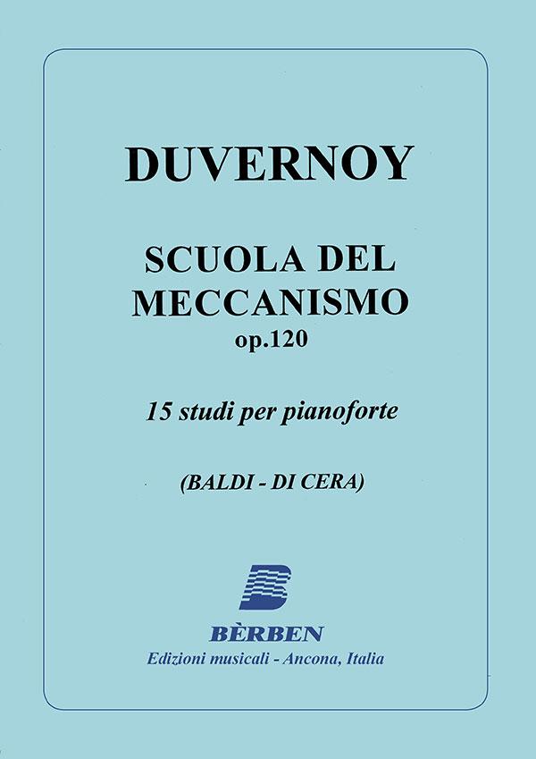 Scuola del meccanismo op.120