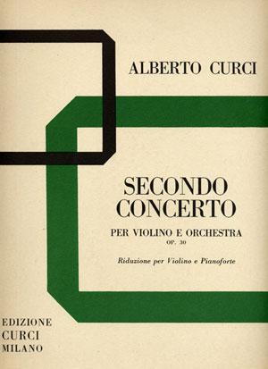 Secondo Concerto op. 30 per violino e orchestra