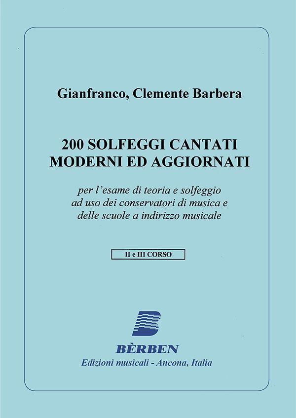 200 solfeggi cantati moderni ed aggiornati