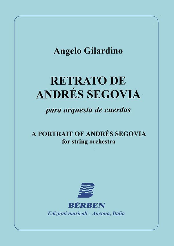 Retrato de Andrés Segovia