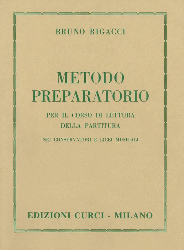 Metodo preparatorio per il corso di lettura della partitura nei Conservatori e Licei Musicali