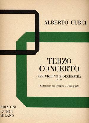 Terzo Concerto op. 33 per violino e orchestra