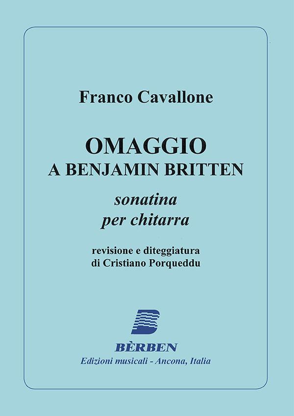 Omaggio a Benjamin Britten