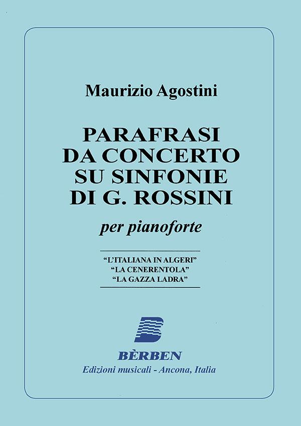 Parafrasi da concerto su sinfonie di G. Rossini