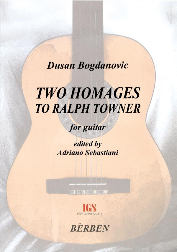 Two homages to Ralph Towner