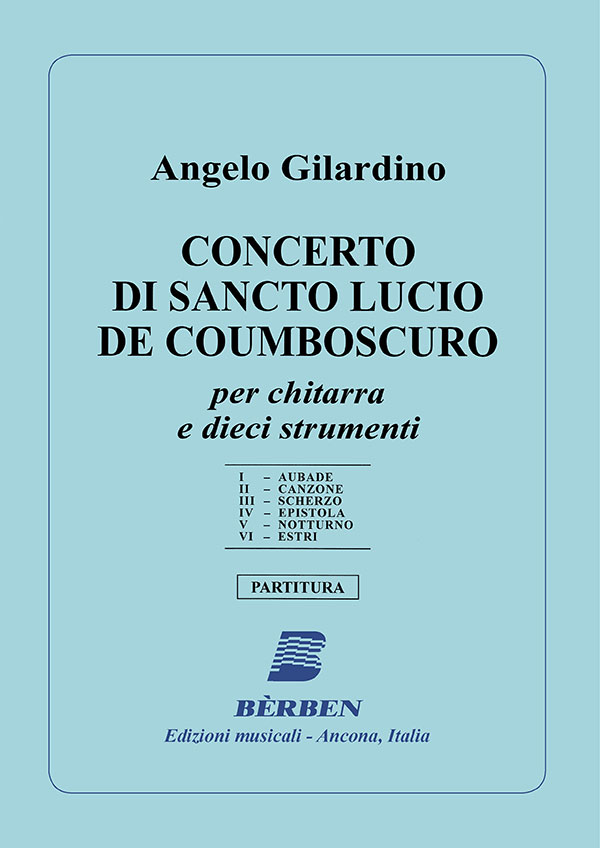 Concerto di Sancto Lucio de Coumboscuro