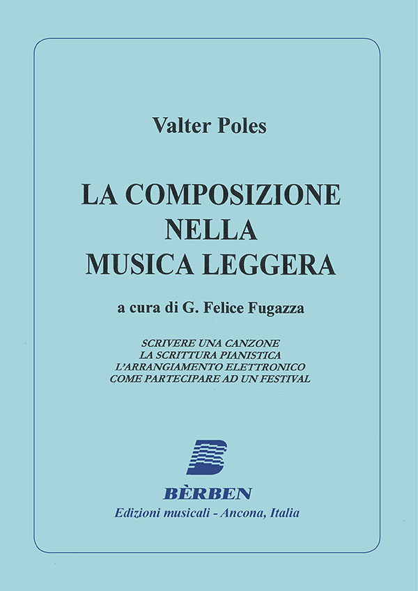 La composizione nella musica leggera