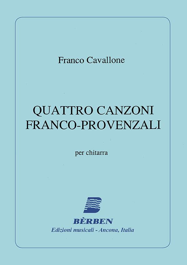 Quattro canzoni franco-provenzali