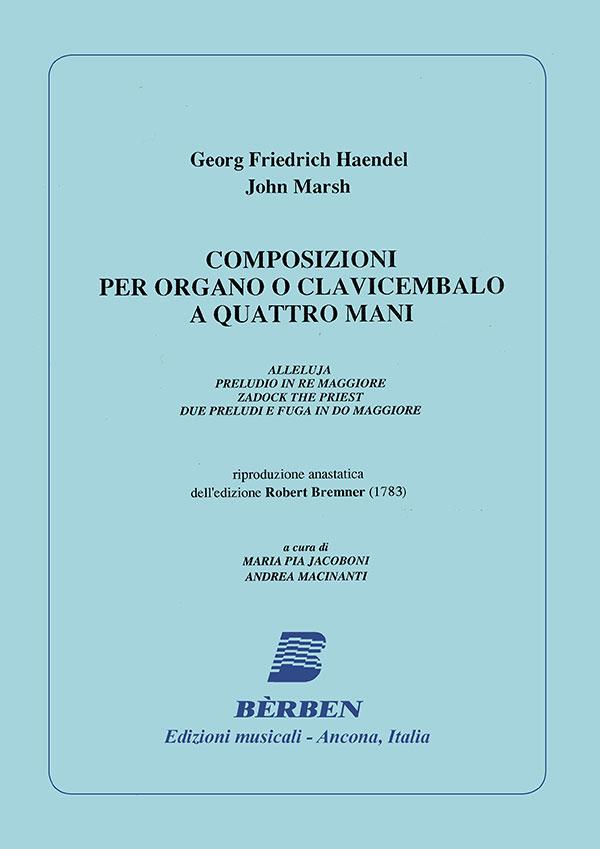 Composizioni per organo o clavicembalo a quattro mani
