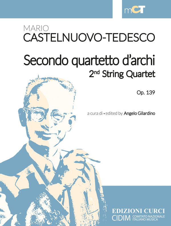 Secondo quartetto d'archi / 2nd String Quartet op. 139