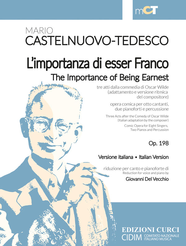 L'importanza di esser Franco / The Importance of Being Ernest op. 198