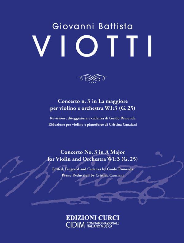 Concerto n. 3 in La maggiore