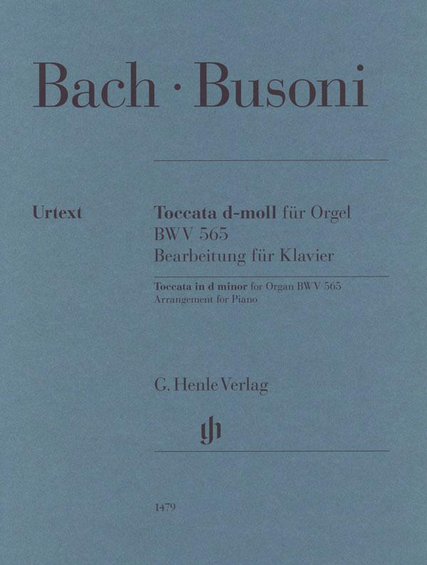 Toccata d-moll fur Orgel BWV 565