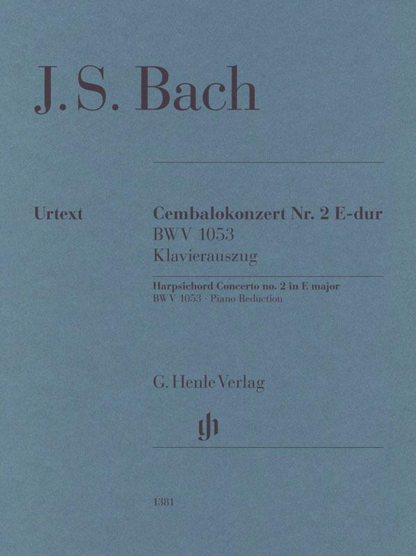 Cembalokonzert Nr. 2 E-dur BWV 1053