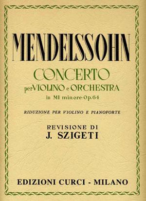 Concerto per violino e orchestra in Mi minore op. 64