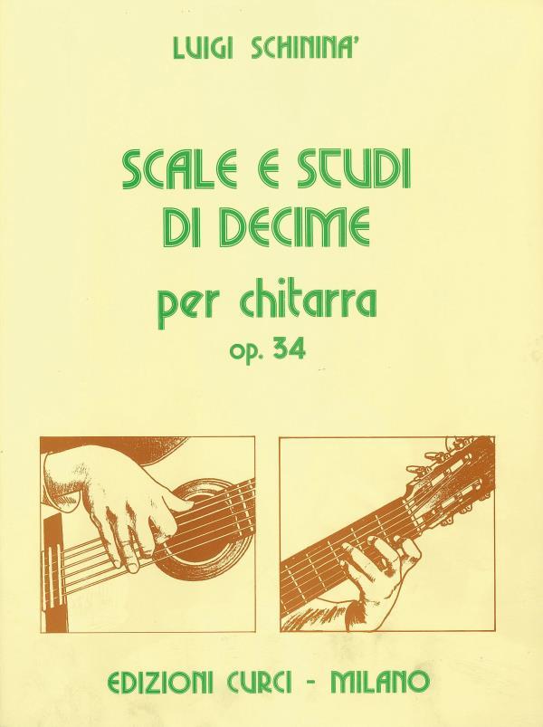 Scale e Studi di decime op. 34