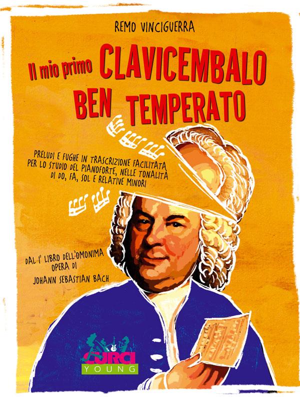 Il mio primo Clavicembalo ben temperato dal I° libro dell'omonima opera di Johann Sebastian Bach