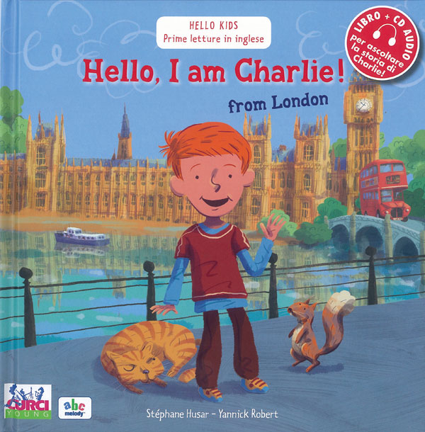 Hello, I am Charlie! from London