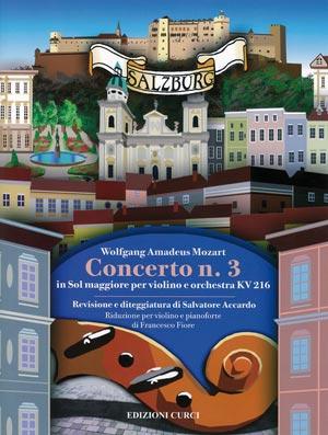 Concerto n. 3 in Sol maggiore per violino e orchestra KV216
