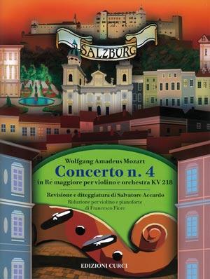 Concerto n. 4 in Re maggiore per violino e orchestra KV218
