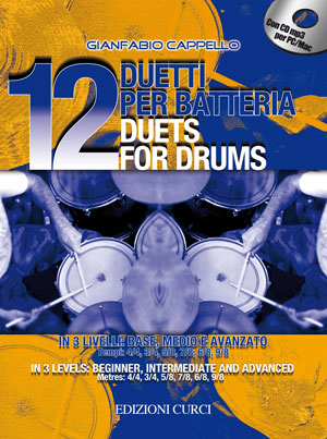 12 duetti per batteria / 12 duets for drums