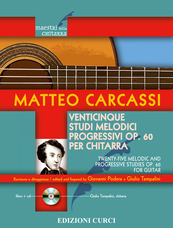 Venticinque studi melodici progressivi op. 60 per chitarra
