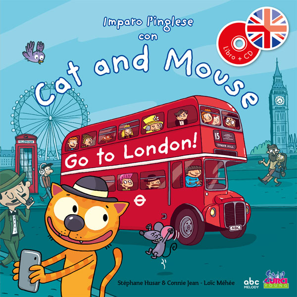 Imparo l'inglese con Cat and Mouse  - Go to London!